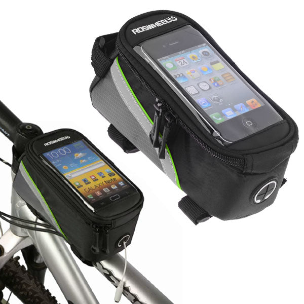 shopify-Bicycle Mobile Phone Bag for Cycling - Fits 4.2 inch phones-1