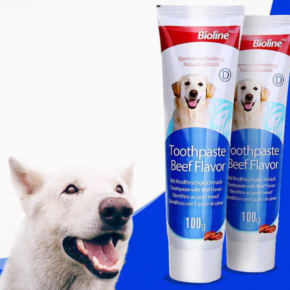 Dog toothpaste for pet toothpaste