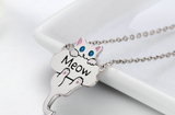 Cat S925 Sterling Silver Necklace