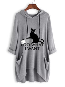 I Do What I Want Cat Shirt , T-shirt chat