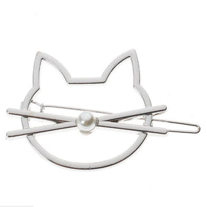 Cute Kitty Hair Clips, clips chat
