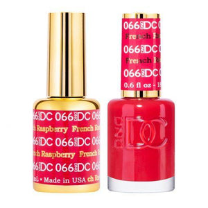 DND DC 066 French Raspberry - Gel & Matching Polish Set - DND DC Gel & Lacquer