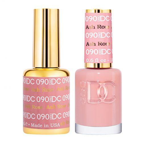 DND DC 090 Ash Rose - Gel & Matching Polish Set - DND DC Gel & Lacquer