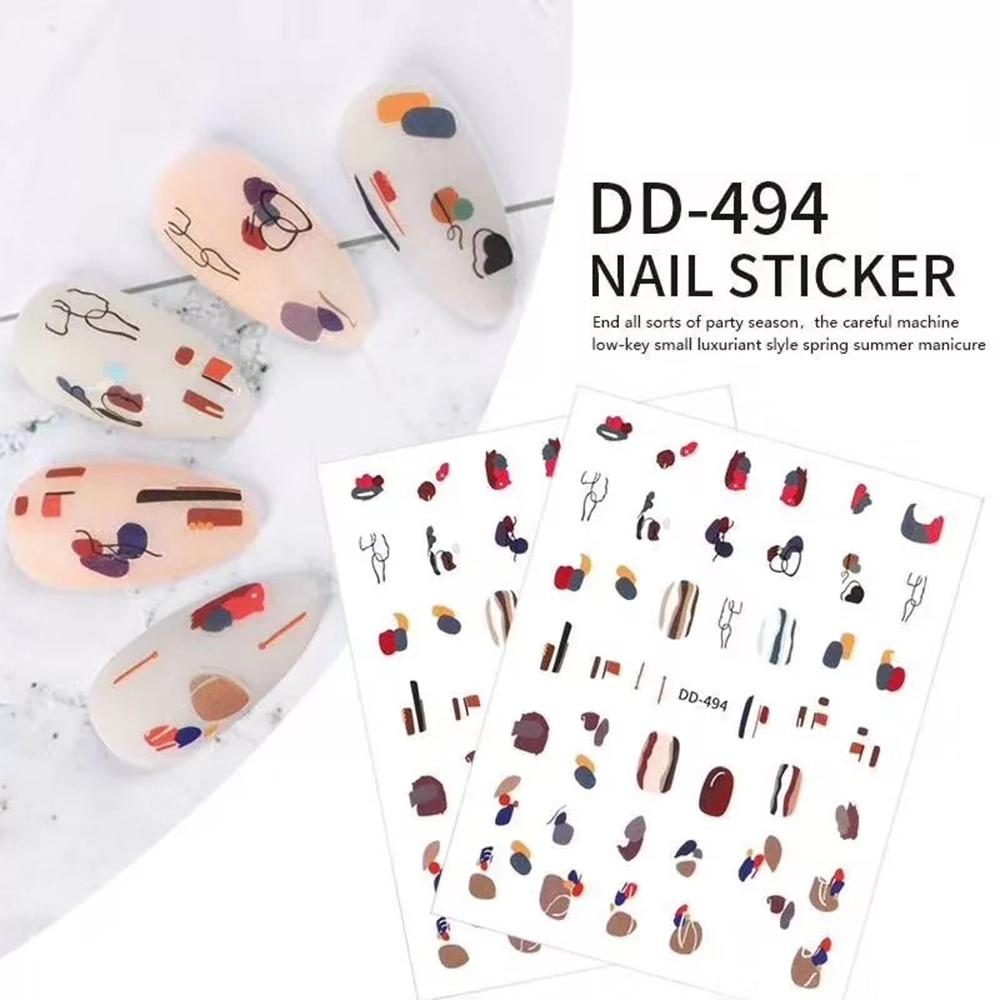 3D Nail Sticker DD494