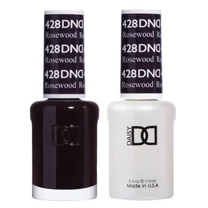 DND 428 Rosewood - Gel & Matching Polish Set - DND Gel & Lacquer