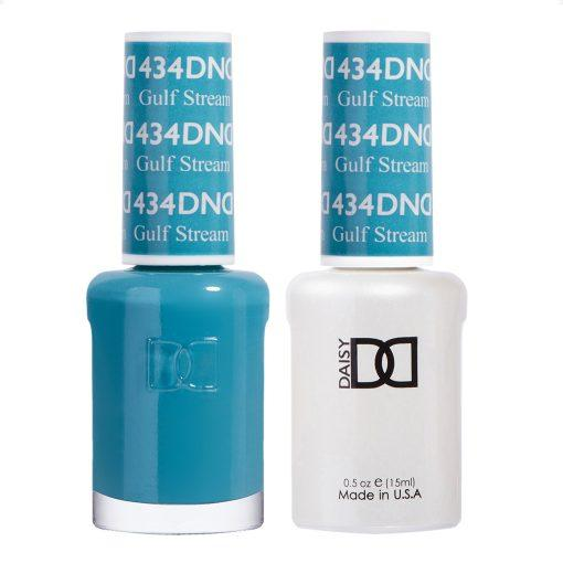 DND 434 Gulf Stream - Gel & Matching Polish Set - DND Gel & Lacquer