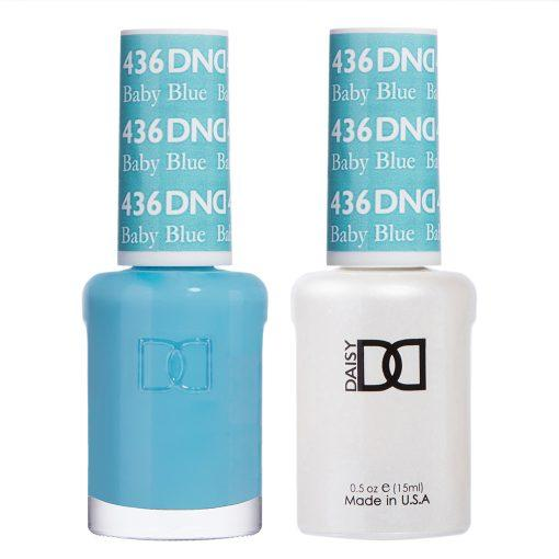 DND 436 Baby Blue - Gel & Matching Polish Set - DND Gel & Lacquer