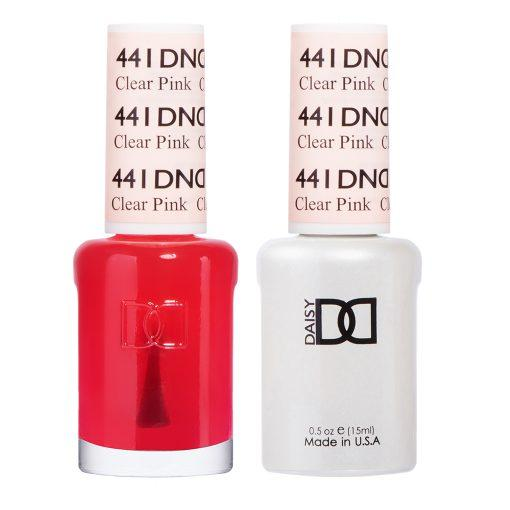 DND 441 Clear Pink - Gel & Matching Polish Set - DND Gel & Lacque
