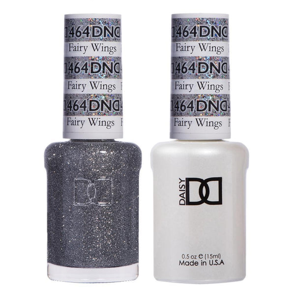 DND 464 Fairy Wings - DND Gel Polish & Matching Nail Lacquer Duo Set - 0.5oz