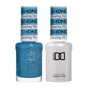 DND 514 Soaring Sky - DND Gel Polish & Matching Nail Lacquer Duo Set - 0.5oz
