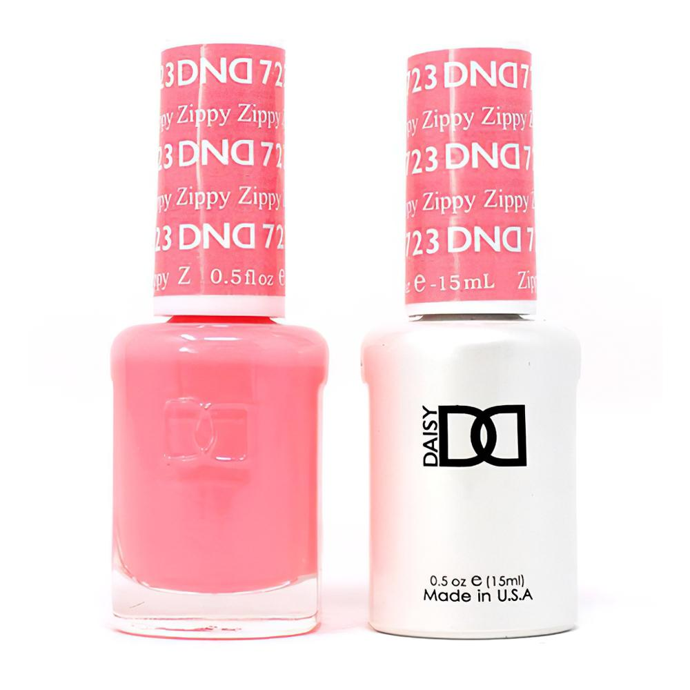 DND 723 Zippy - DND Gel Polish & Matching Nail Lacquer Duo Set - 0.5oz