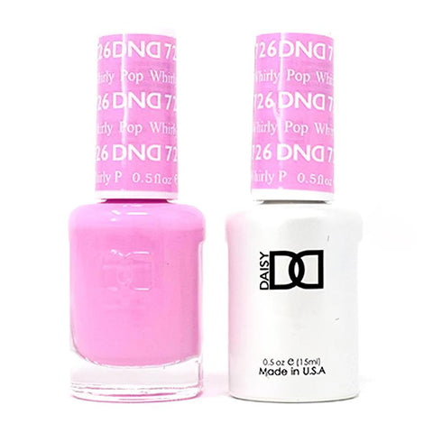 DND 726 Whirly Pop - DND Gel Polish & Matching Nail Lacquer Duo Set - 0.5oz