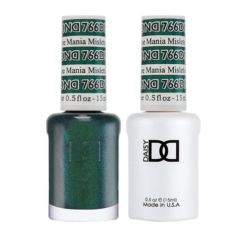 DND 766 Mistletoe Mania - DND Gel Polish & Matching Nail Lacquer Duo Set - 0.5oz