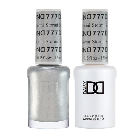DND 777 Stormi - DND Gel Polish & Matching Nail Lacquer Duo Set - 0.5oz