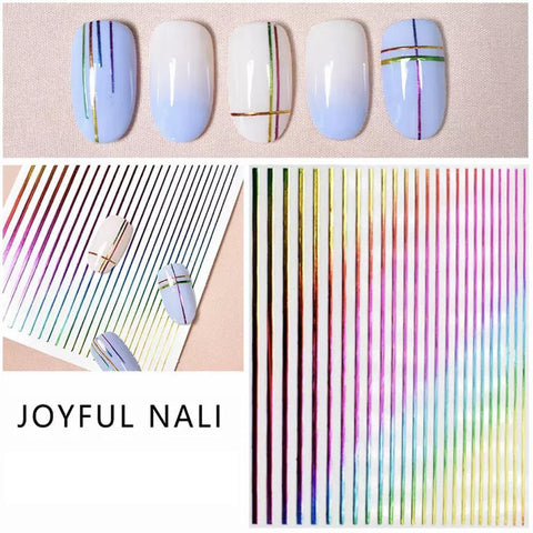 3D Nail Art Sticker Joyful Nali - 1