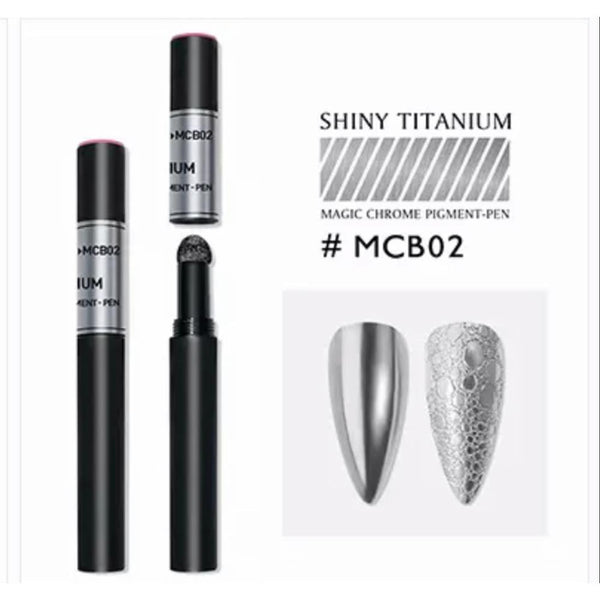 New Nail Art Air Cushion Powder Pen Design - MCB02