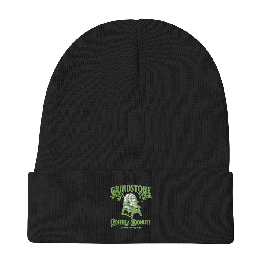 Embroidered Beanie Hat Grindstone