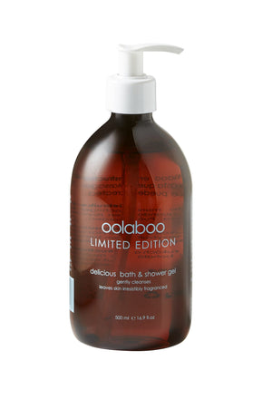 Oolaboo limited edition - delicious bath & shower gel