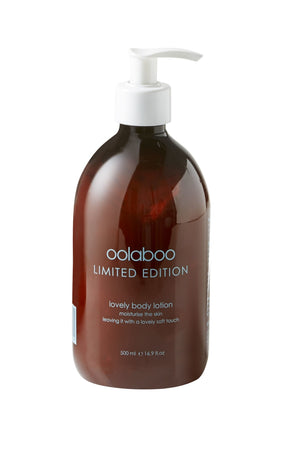 Oolaboo limited edition - lovely body lotion
