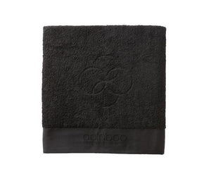Maxi embracing towel black 570 gram 103x150 cm