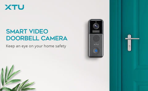 XTU J6 wireless doorbell camera electronic recharged home security