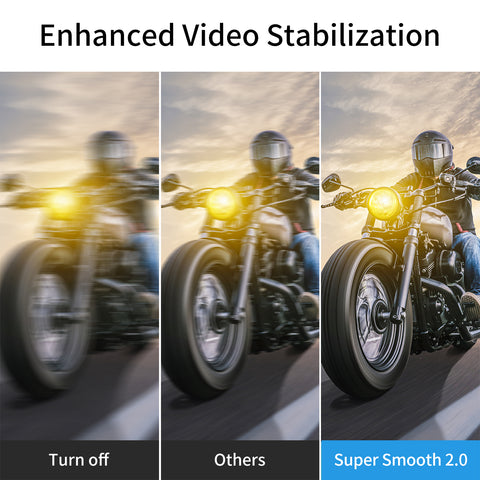 action camera super stable setting