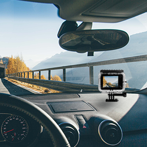 action camera can be used as dash cam