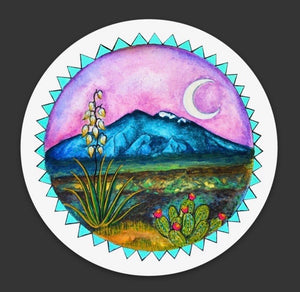Taos Mountain Sticker