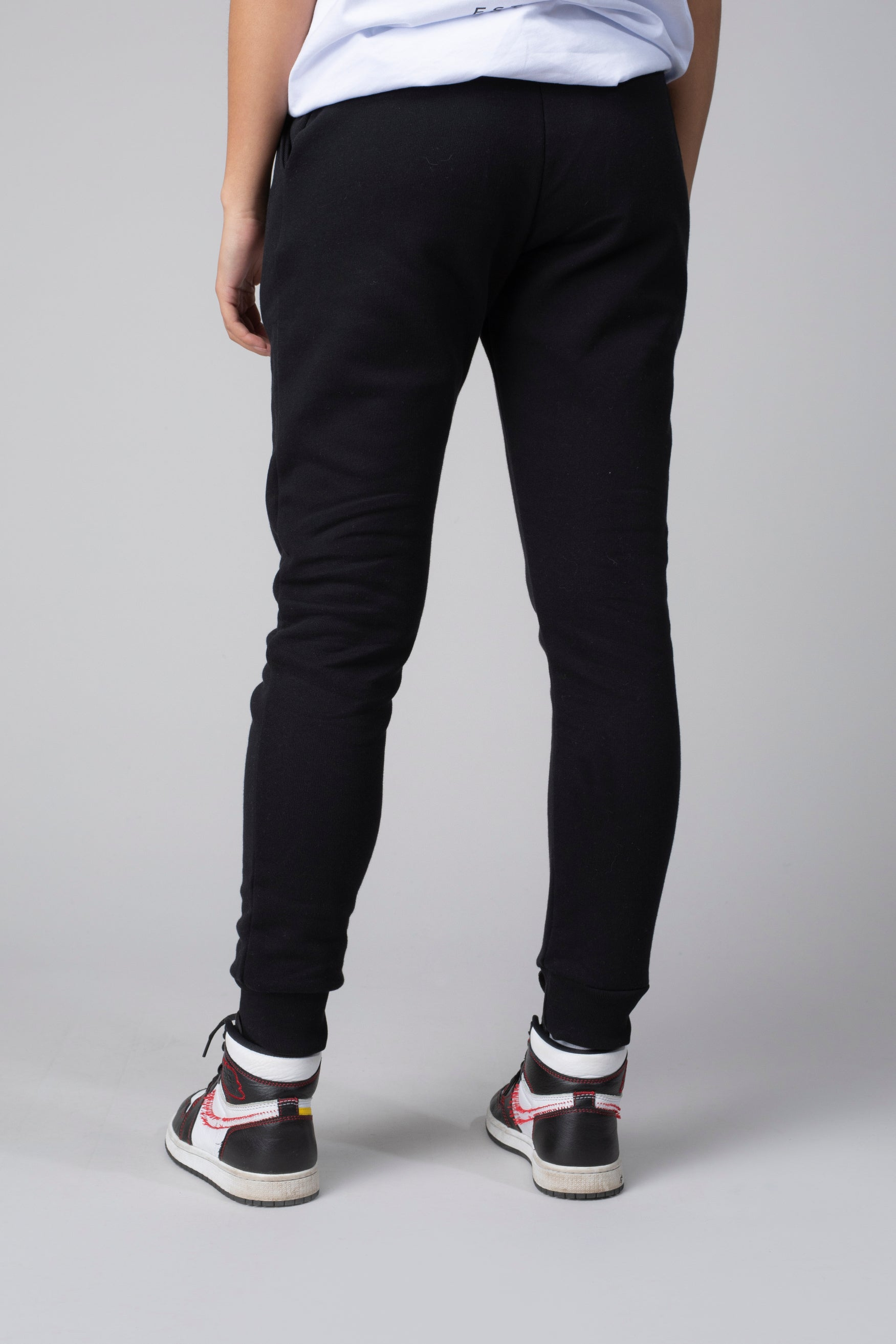 Essential zwarte joggingbroek