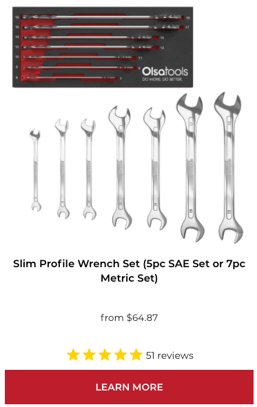 Professional Slim Profile Wrenches - Tappet Wrenches