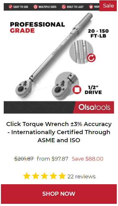 Click Torque Wrench