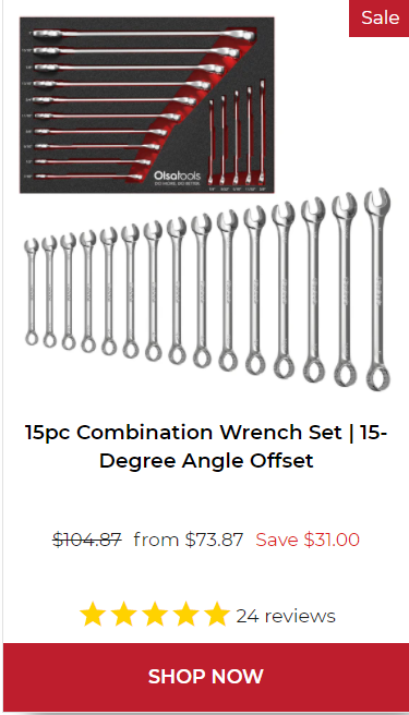 Professional Combination Wrench