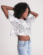 Monstera - Women's Lounge Cropped Tee