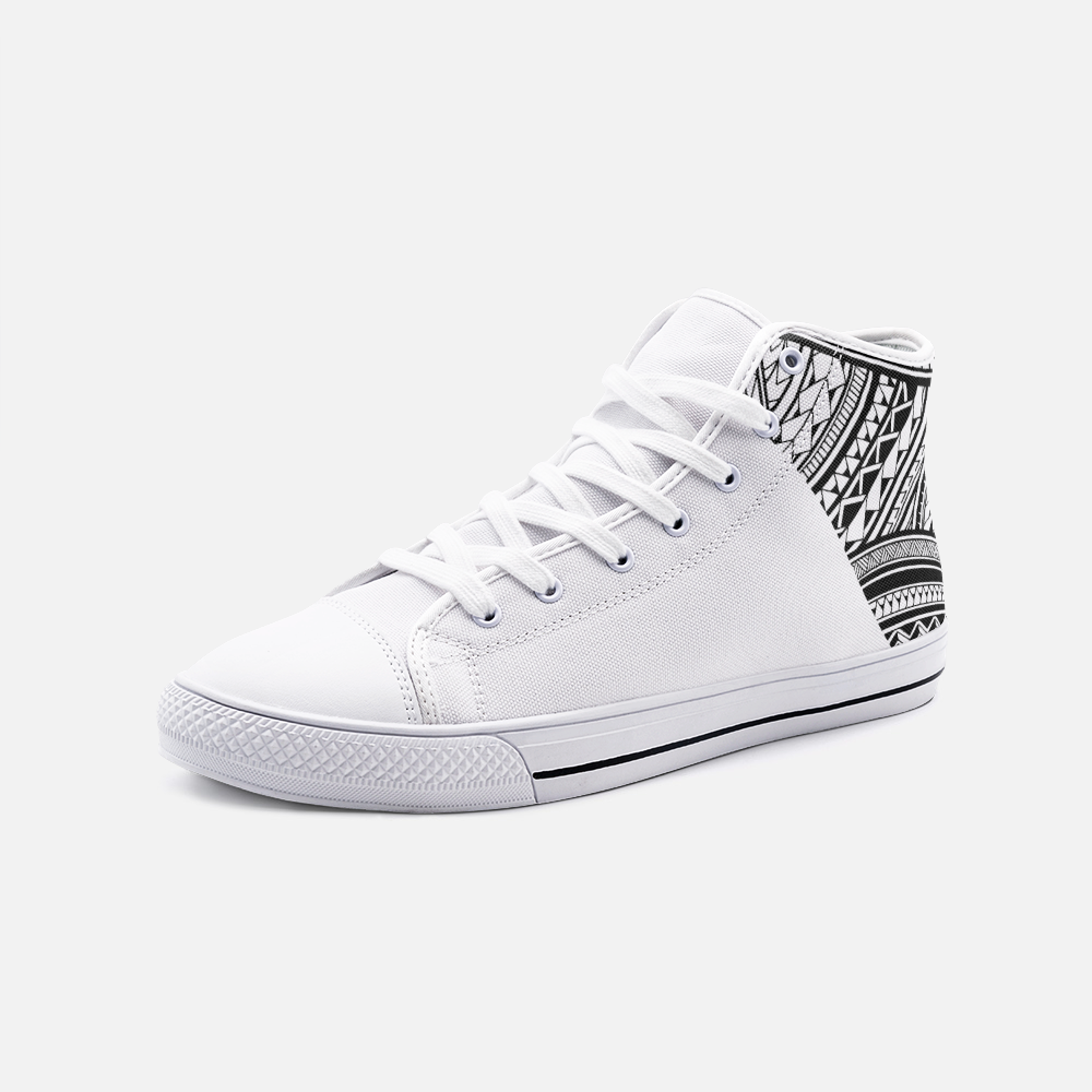 Pe'ā - Hightop Canvas Shoe