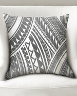 "Pe'a - Gray Throw Pillow Case 20""x20"""