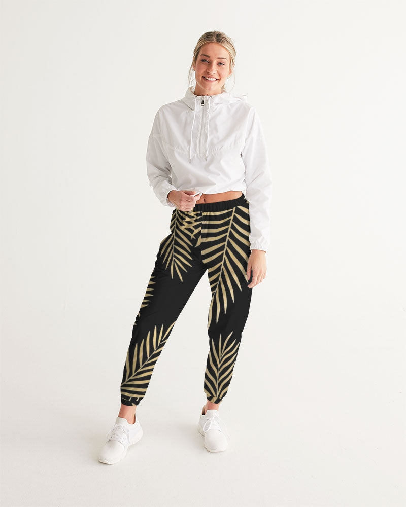 Palms Black/Gold Women's Track Pants