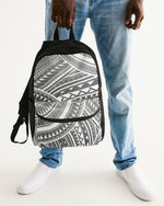 Pe'a Gray Small Canvas Backpack