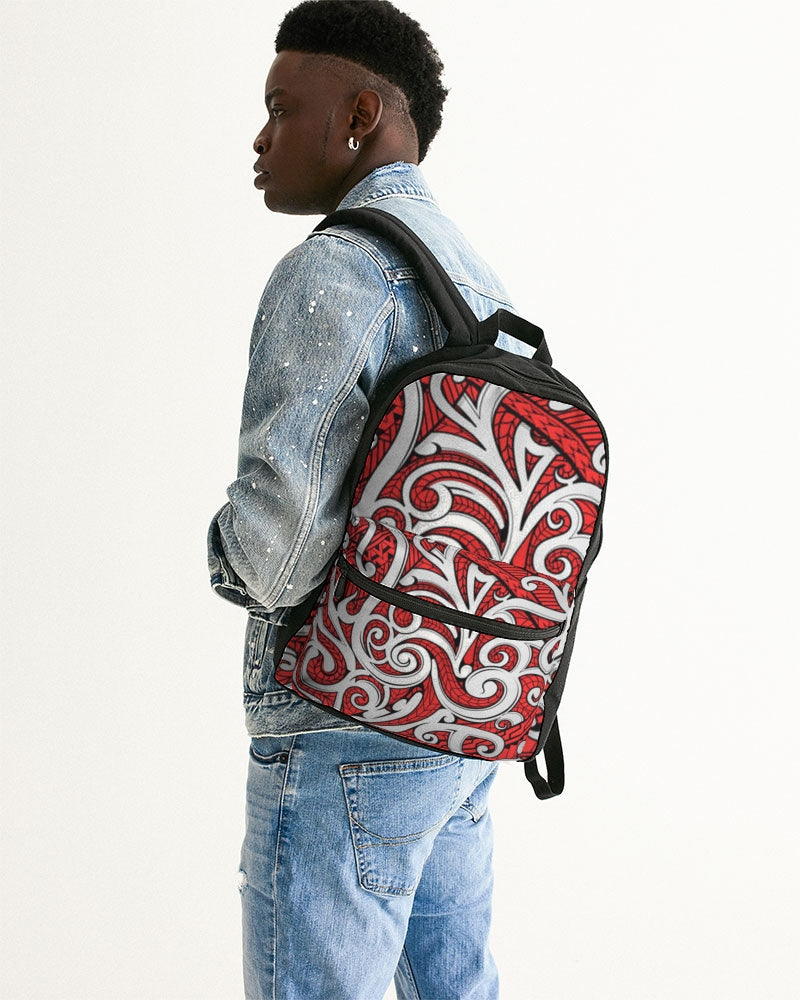 Polynesian Red - Canvas Backpack