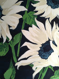 Sunflowers, Blue and White, Giclée Print