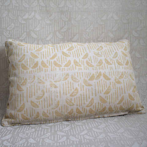 Half Moon Oroblanco Pillow