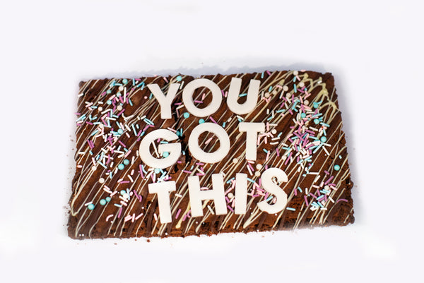 Chocolade Brownie - 'You got this'