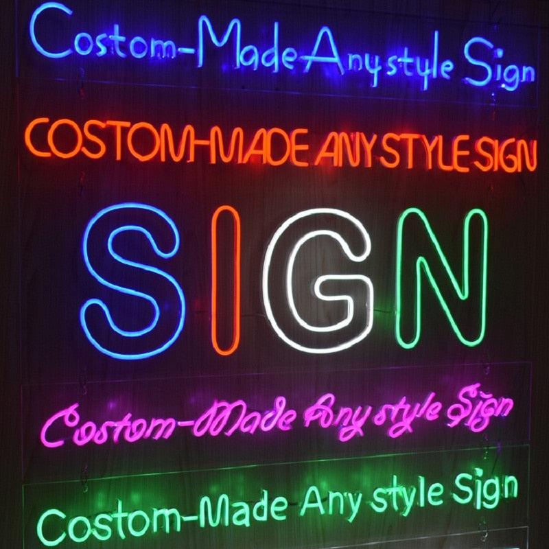 High Quality Bespoke LED Sign Custom Built - Get in Touch!.