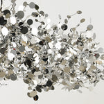 Load image into Gallery viewer, Terzani Argent Stainless Steel Chandelier.