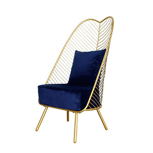 Luxe Velvet Peacock Chair.