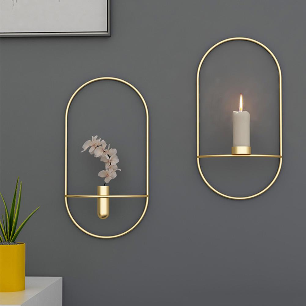 Art Deco Wall Mounted Candle Holder.