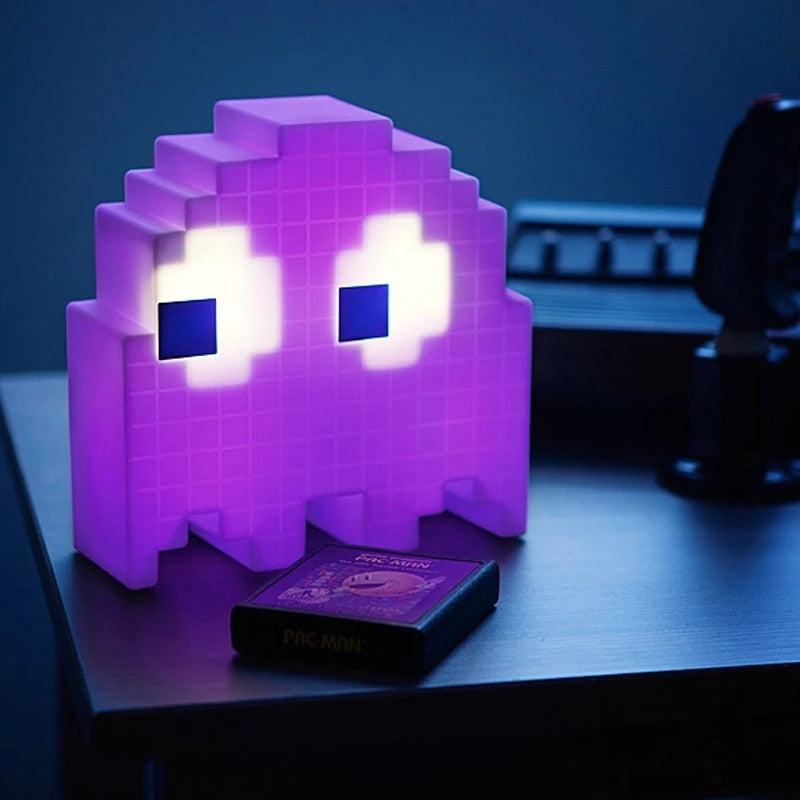 Old Skool Pac Man Lamp.