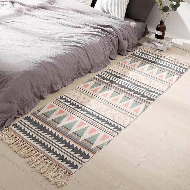 Machine Washable Cotton Rug.