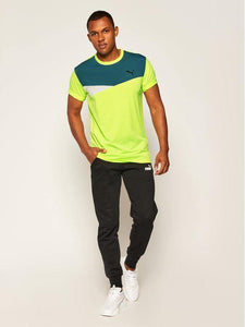 Puma Train Color Block Short Sleeve Tee Herren - Sport Duwe Saulheim
