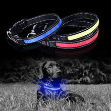Load image into Gallery viewer, Three LED Dog Collars