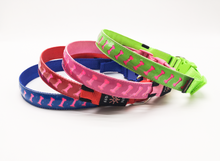Load image into Gallery viewer, Four Different Bone print LED dog Collars